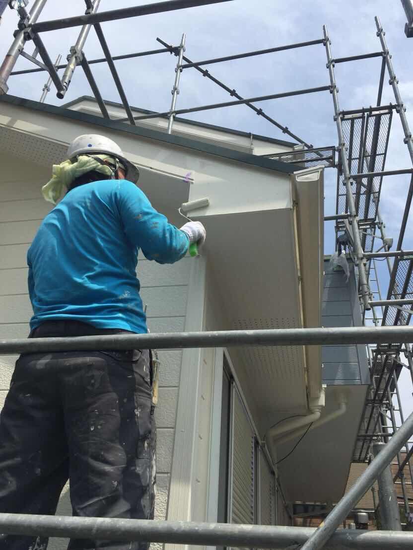 川本住宅工房の外壁塗装の施工内容