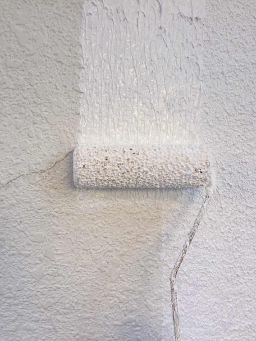 シリコン塗料による外壁塗装